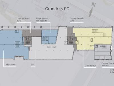 Grundrisse Einzelhandel - EG